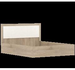 Клео Кровать 1,4 б/к;б/м ЛДСП (дуб сонома)