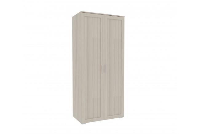 Милана Шкаф 2-х дверный (каркас) (ясень светлый)