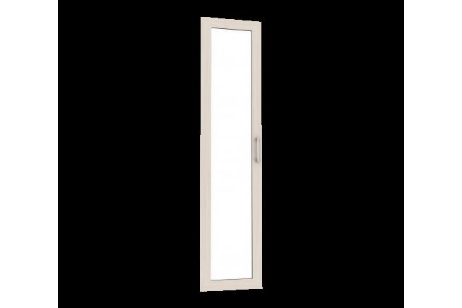 Милана Фасад шкафа зеркальный (МДФ) (ясень светлый)