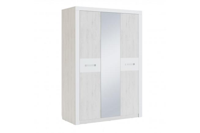 Амели Мод. 6 Шкаф трехдверный, Дуб Харбор белый