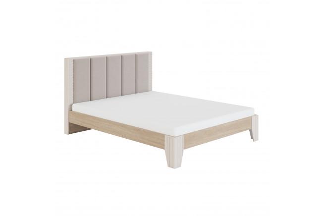 Беатрис. Мод 2.1 Кровать с мягкой спинкой 1,4 б/о без орт.осн., без матраса, Палермо